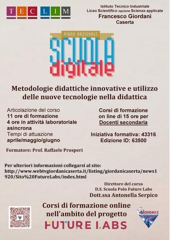 Metodologie didattiche innovative DOC SECONDARIA
